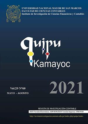 Ver Vol. 29 Núm. 60 (2021)