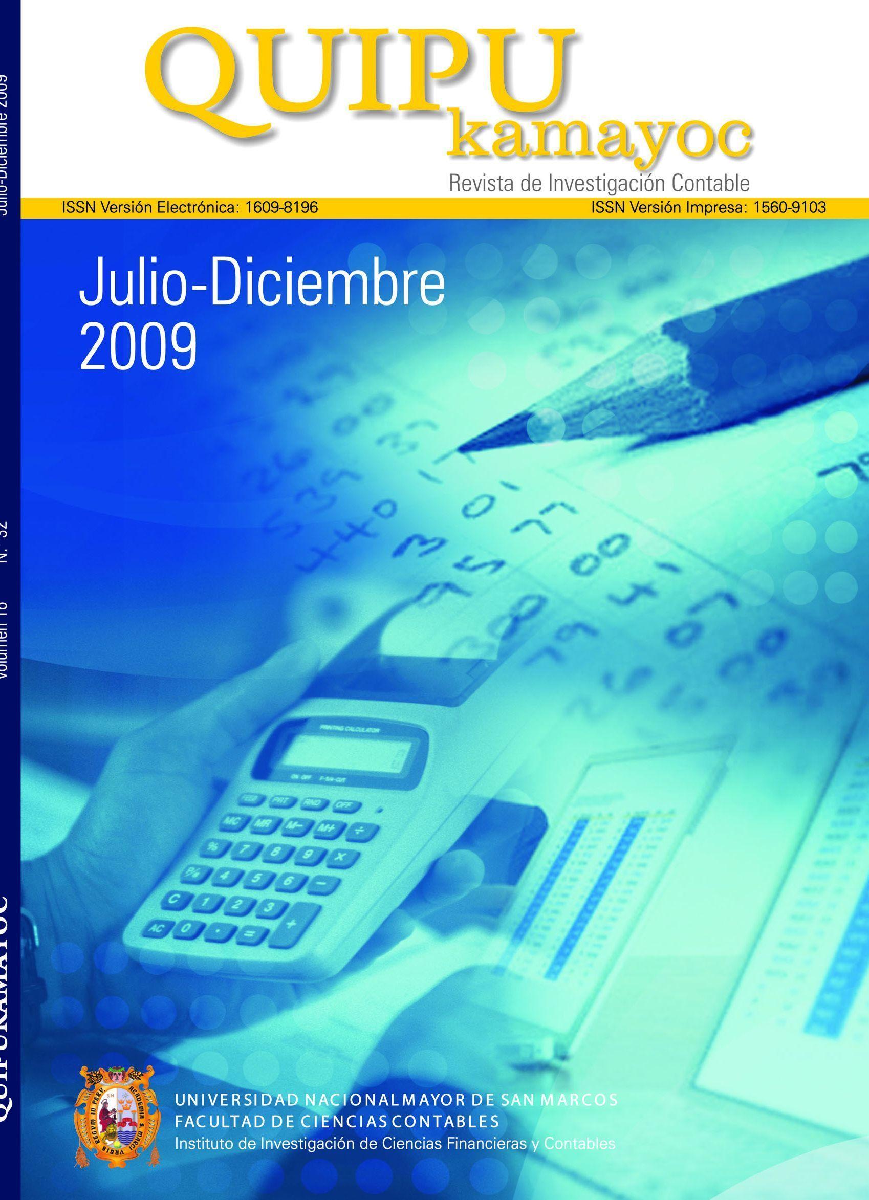 Quipukamayoc 2009-II
