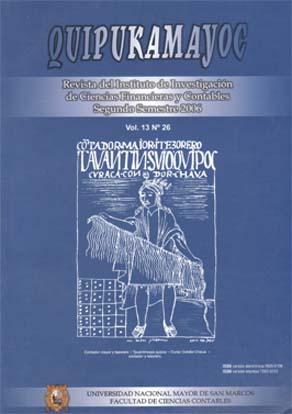 Ver Vol. 13 Núm. 26 (2006)